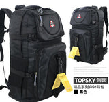 60 liters  large capacity backpack