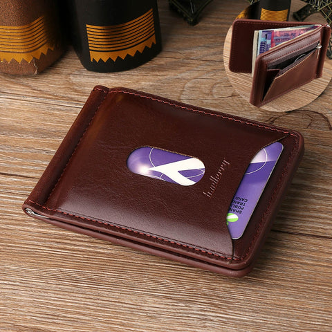 Fashion Men  Money Clip Leather