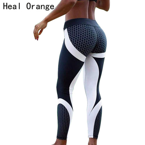 HEAL ORANGE Women Sport Leggings Yoga Pants