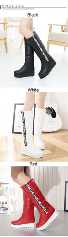 Gdgydh Winter Women Shoes Knee high Boots