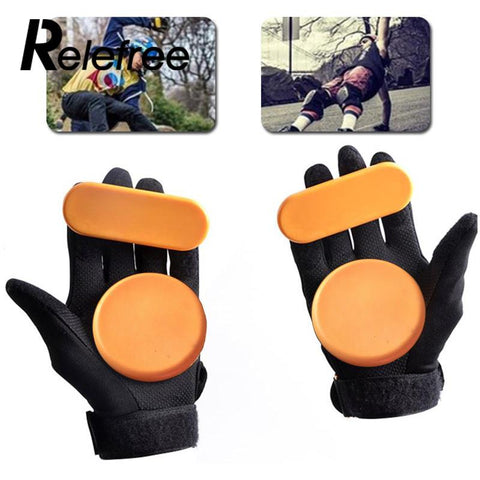 1pc Skateboard/Longboard Sliding FreeRide Gloves Replacement Palm Pucks
