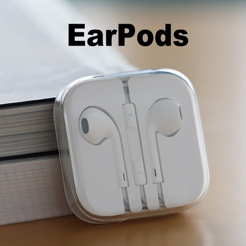 Original earphone for iPhone supports 5 6s and iPad.