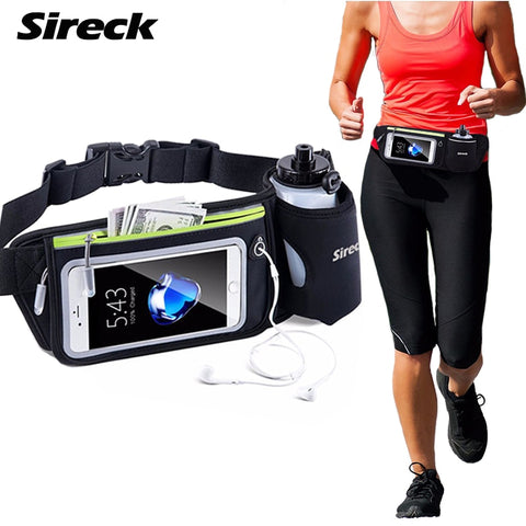 Sireck Sport Gym Bag Waterproof Running Waist Bag