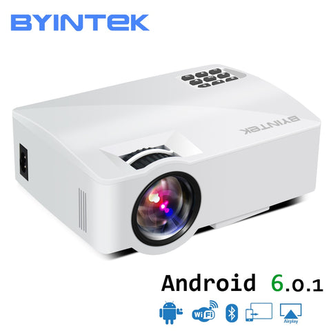 Video Projector Proyector Beamer for Home Theater Support Full HD 1080P (Optional Android 6.0)