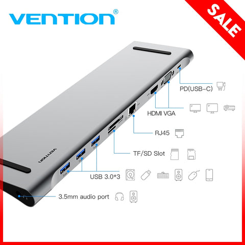 Vention USB C Adapter for Macbook Type C to HDMI Converter