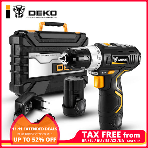 Screwdriver Cordless Drill Mini Wireless Power