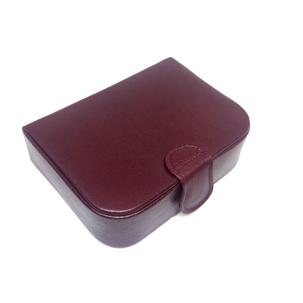 Stud Box with Single Compartment, Suede Lining-Stud Box-Sterling-and-Burke