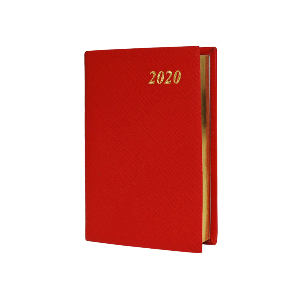 2020 Crossgrain Leather Pocket Planner, 4x2 | One Day Per Page | D142L