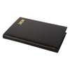 Year 2020 Leather Pocket Planner, 4x2 | Bonded | D742BL