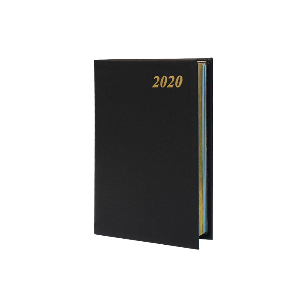 Year 2020 Calf Leather Pocket Planner, 4x2 | D742C
