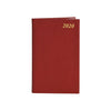 2020 Crossgrain Leather Pocket Planner, 5x3 | D753L