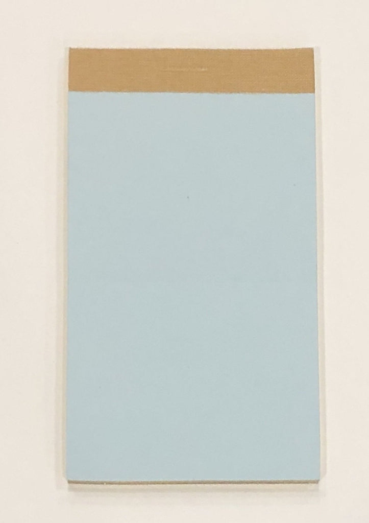 Flip Pads Refill, Blue | 4.5 by 2.5 | Pack of 2 | Gilt Edges | Feather Weight Paper | Sterling and Burke | Made in England-Refill-Sterling-and-Burke