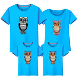 Cute Owl Matching  T-shirts