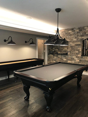 Olhausen 8' Blackhawk Pool Table in home