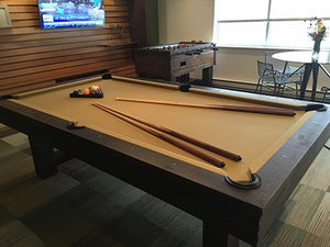 Olhausen 8' Breckenridge Pool Table in home