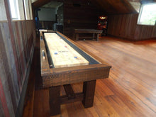 "Olhausen 12' x 20"" Breckenridge Shuffleboard in game room"