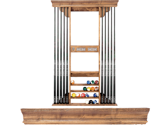 Olhausen Deluxe Cue Rack 722 Eclipse