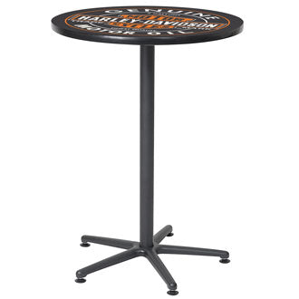 H-D® Oil Can Cafe Table