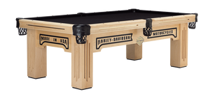 Harley-Davidson Maple Olhausen Pool Table