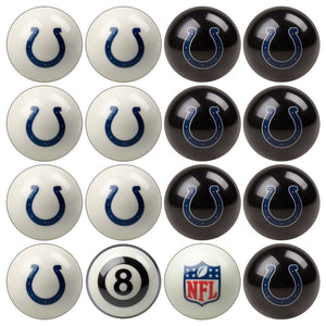 NFL Indianpolis Colts Pool Balls - Home/Away Set