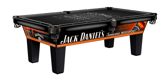 Jack Daniels Laminate Olhausen Pool Table