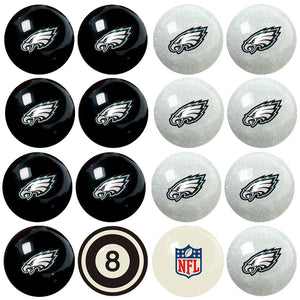 NFL Philadelphia Eagles Pool Balls - Home/Away Set