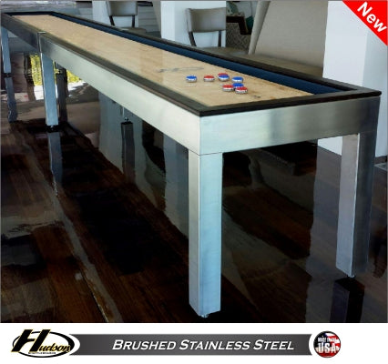 Hudson Brushed Stainless Steel - NEW with Custom Finish Options! 9'-22' Lengths