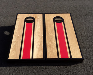 AZBS Cardinals Bag Lane Cornhole Board