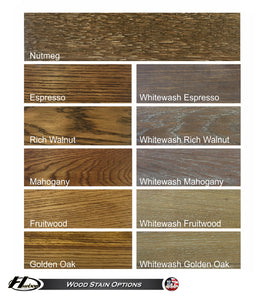 Hudson Sedona Limited - NEW with Custom Stain Options! 9'-22' Lengths
