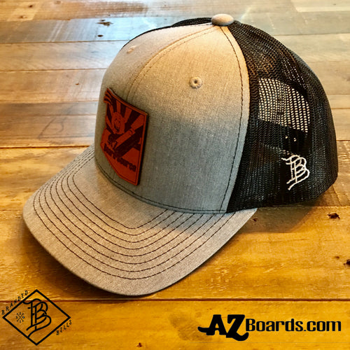 AZBS Grey Snap Back Cap