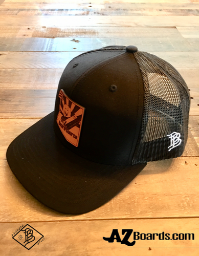 AZBS Black Snap Back Cap