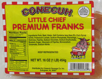 Little Chief Premium Franks 6-1 lb packs