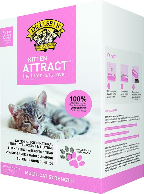 Dr. Elsey's Kitten Attract Training  Cat Litter