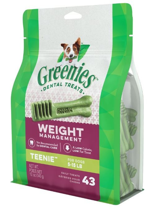 Greenies Teenie Weight Management Dental Dog Chews