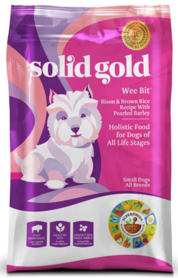 Solid Gold Wee Bit Small Breed Dry Dog Food