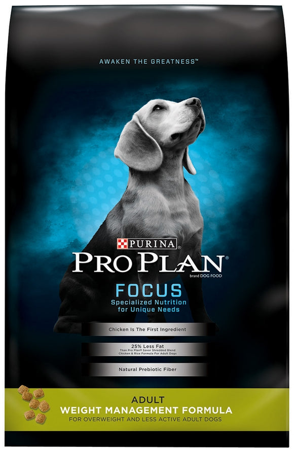 Purina Pro Plan Focus Adult Weight Management Formula Dry Dog Food