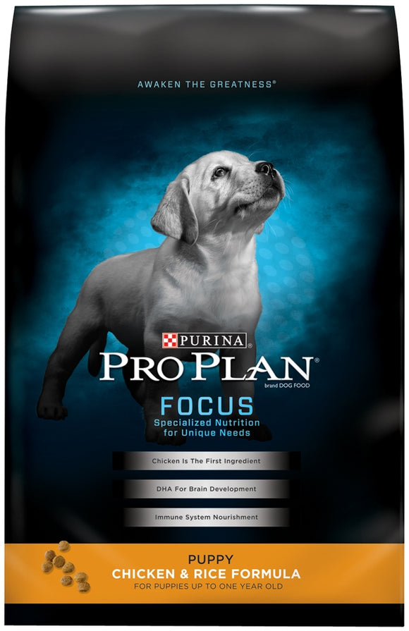 Purina Pro Plan Focus Puppy Chicken and Rice Formula Dry Dog Food