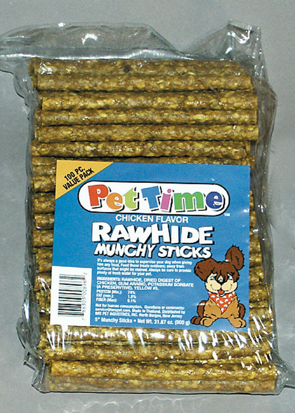 Cadet Munchy Chicken Rawhide Sticks