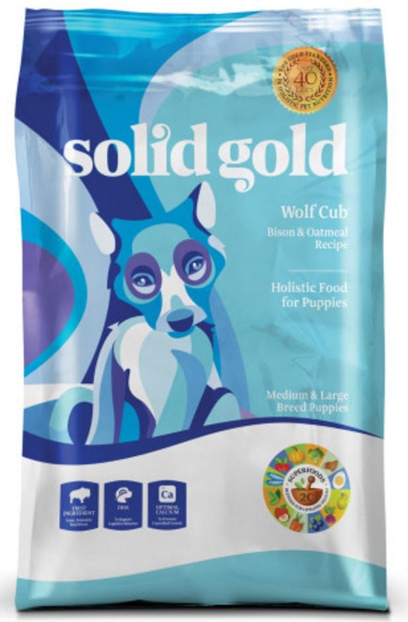 Solid Gold Wolf Cub (Bison) Dry Puppy Food