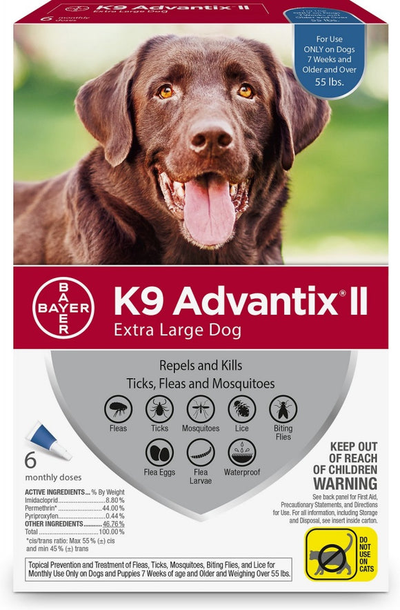 K9 Advantix II Extra Large Dog