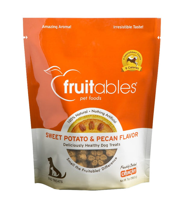 Fruitables Crunchy Sweet Potato and Pecan Dog Treats