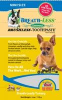 Ark Naturals BREATH-LESS Brushless Toothpaste Mini Dog Treats