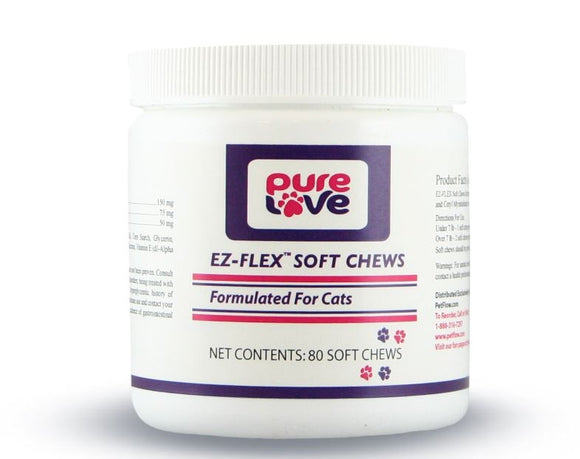 Pure Love EZ-Flex Soft Chews for Cats