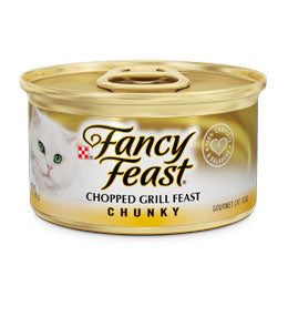 Fancy Feast Chunky Chopped Grill Canned Cat Food