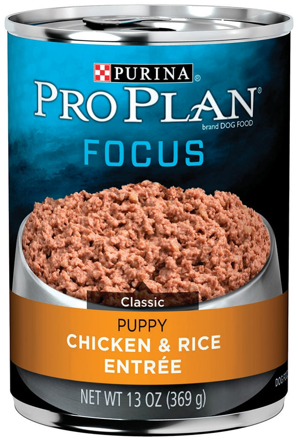 Purina Pro Plan Focus Puppy Chicken and Rice Canned Dog Food
