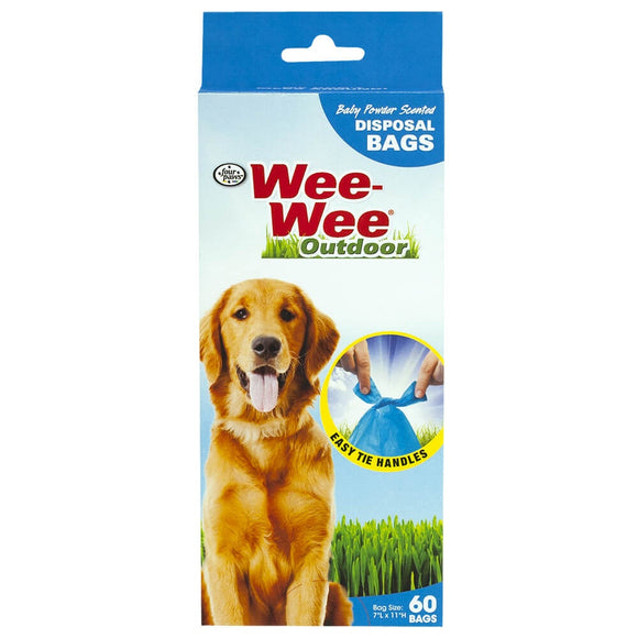 Four Paws Wee-Wee Outdoor Disposable Waste Bags
