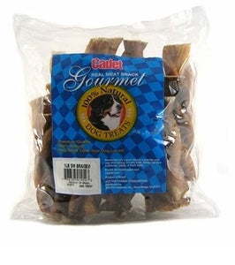 Cadet Gourmet Small Braided Bully Stick Natural Dog Chews