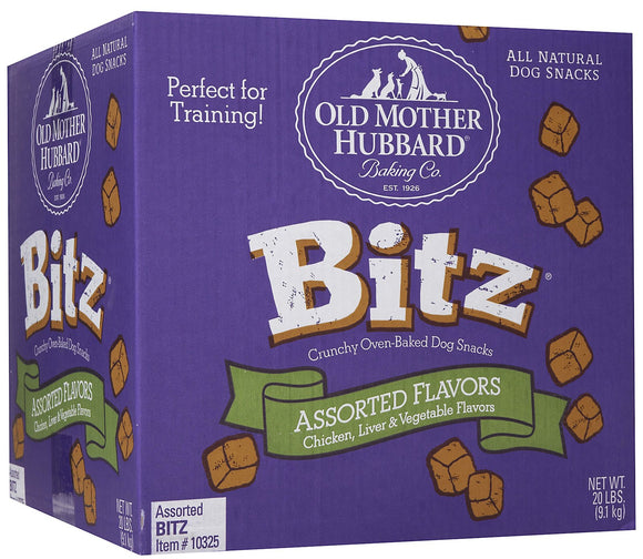 Old Mother Hubbard Bitz Crunchy Classic Natural Assorted Flavors Dog Treats