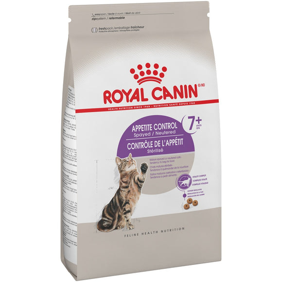 Royal Canin Spayed or Neutered Appetite Control Senior 7+ Dry Cat Food