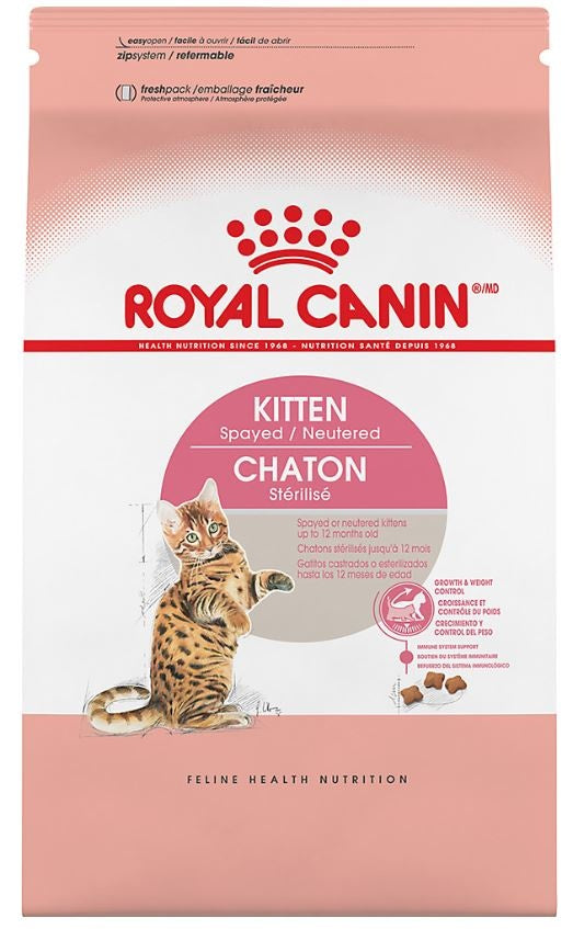 Royal Canin Spayed or Neutered Dry Kitten Food